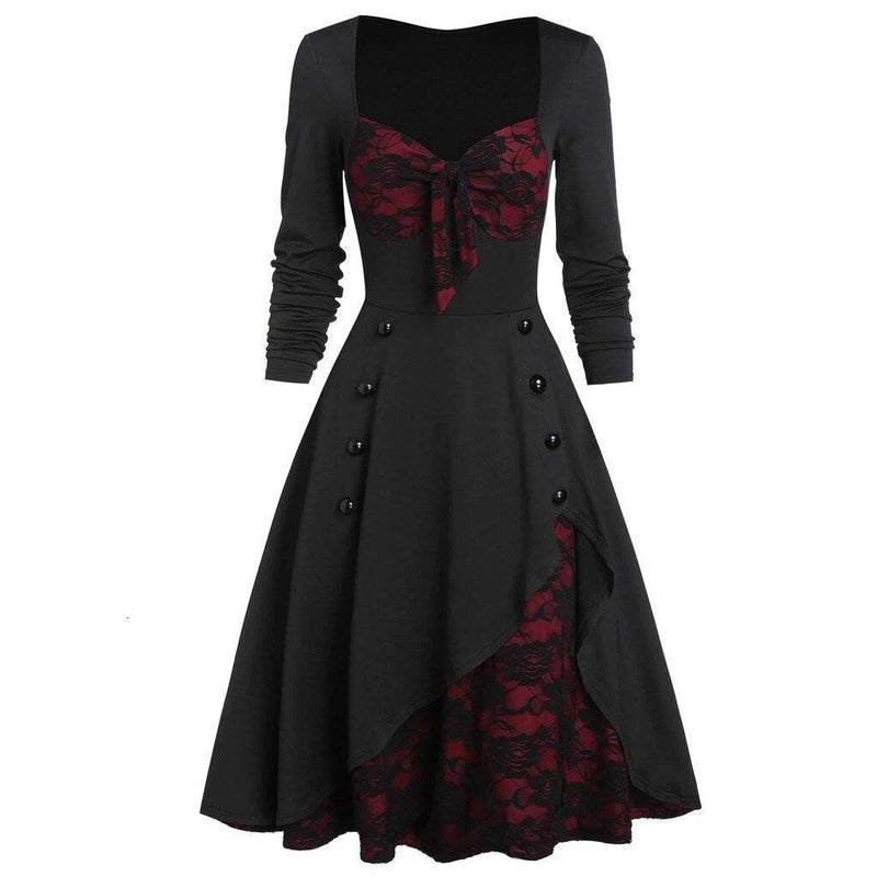 Robe Pin Up Gros Nœuds