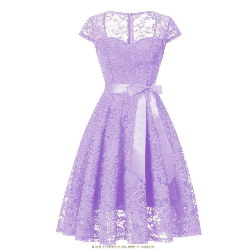 Robe Pin Up Lilas