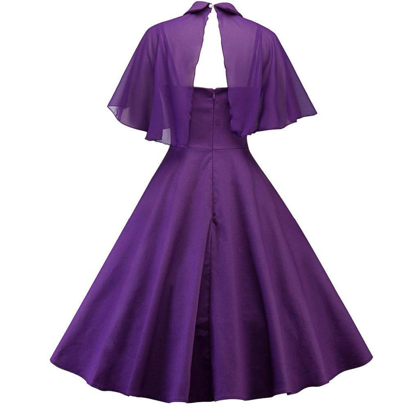Robe Pin Up Manche Courte