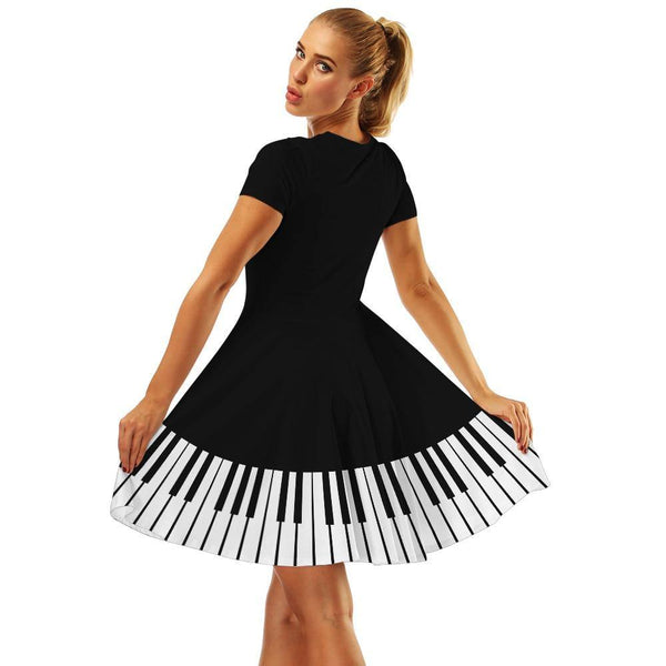 Robe Pin Up Musique Piano