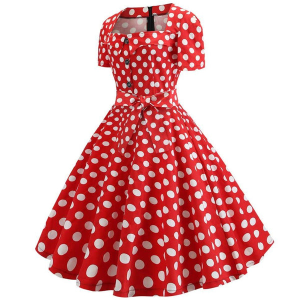 Robe Pin Up Rétro 50's Rockabilly