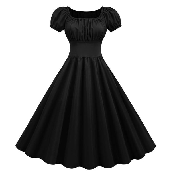 Robe Pin Up Rockabilly Noire