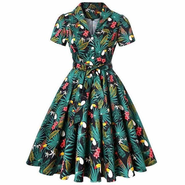 Robe Pin Up Tropical