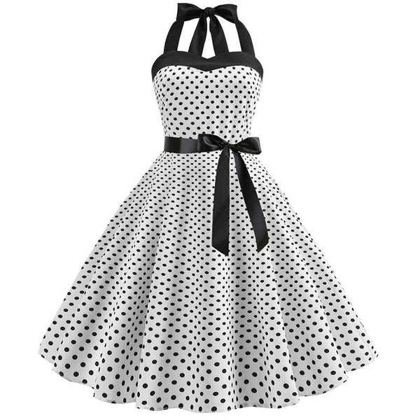 Robe à Pois Pin Up