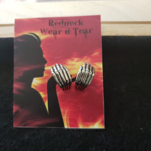 Skeleton Hands Studs
