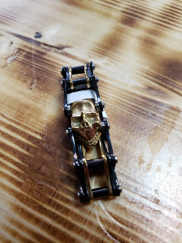 Chain Ring with Skull
