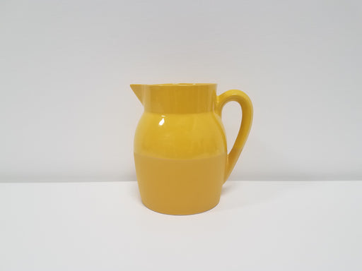 Yellow Stoneware Water Pitcher