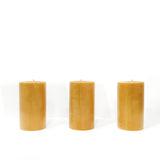 SHED Beeswax Pillar Candles