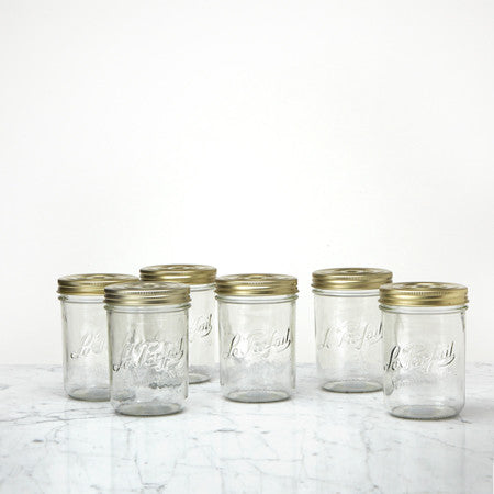 Le Parfait Canning Jar, Set of 6