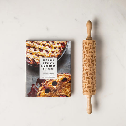 Blackbird Pie Book and Rolling Pin Gift Set