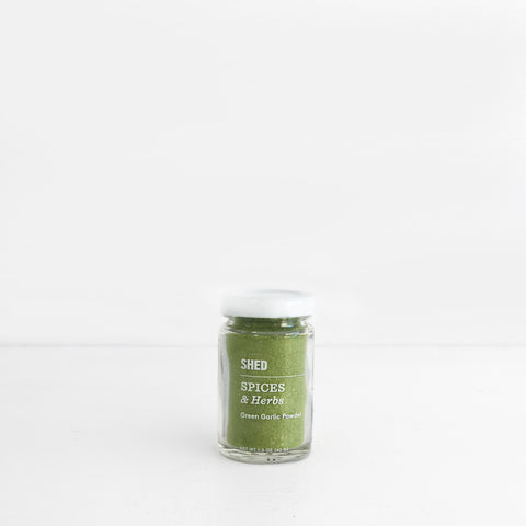 SHED Green Garlic Powder