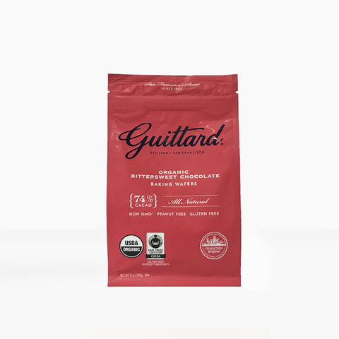 Guittard Bittersweet Baking Wafers