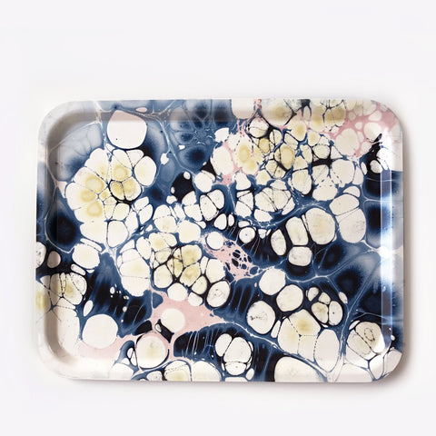 Large Rectangular Ocean Sparkle Tray