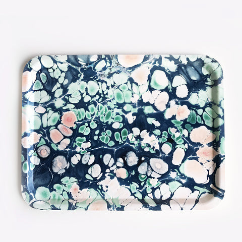 Large Rectangular Spring Blossom Tray
