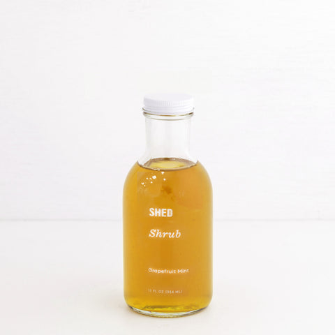 SHED Grapefruit Mint Shrub