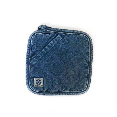 Medium Denim Pot Holder