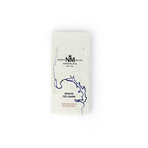 Nathan Miller 70% Ghana Single Origin Dark Chocolate Bar