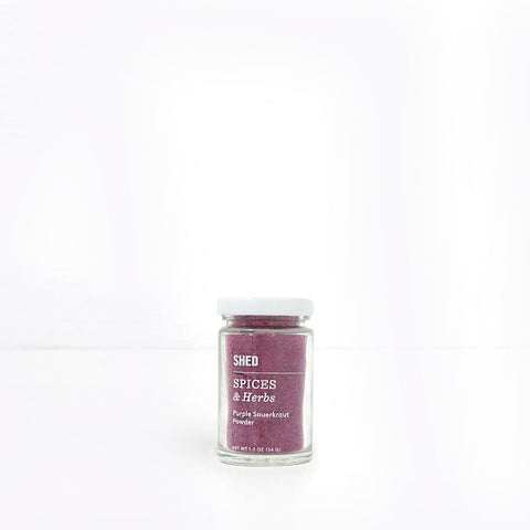 SHED Purple Sauerkraut Powder
