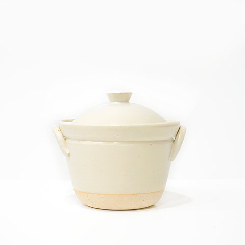 Stoneware Rice Pot