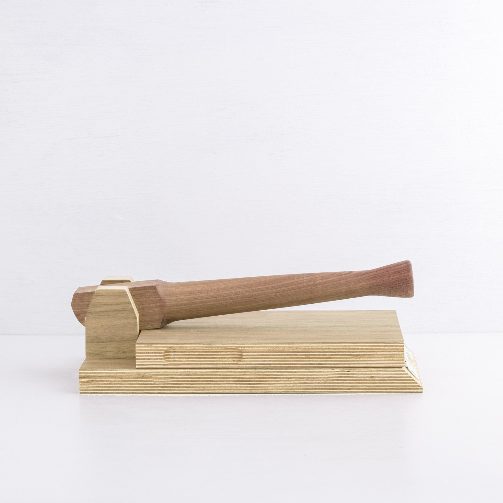 Simple Tortilla Press, Oak