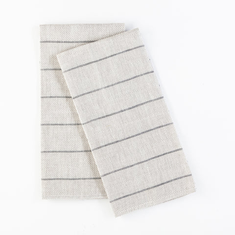 Herringbone Tea Towels Set of 2