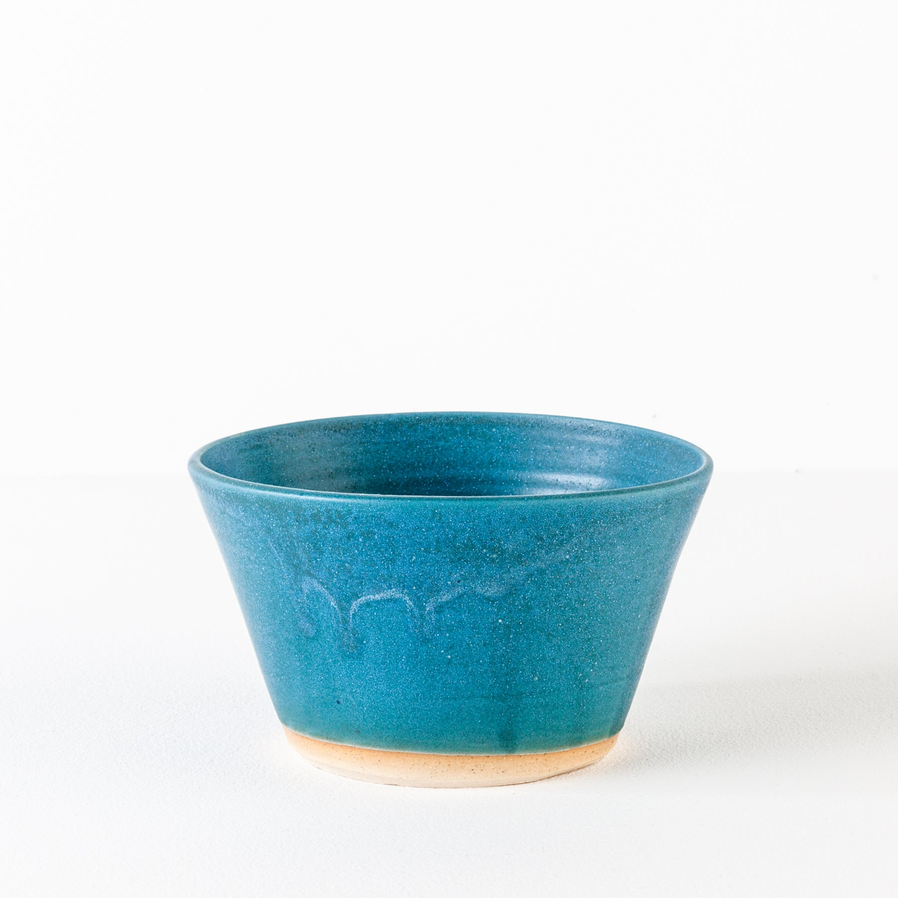 Stackable Stoneware Bowl in Teal