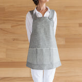 Light Denim Adult's Apron