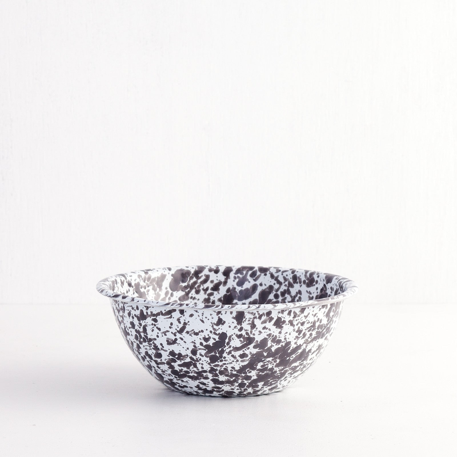 Marbled Enamel Serving Bowl