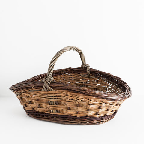 Willow Vegetable Gathering Basket