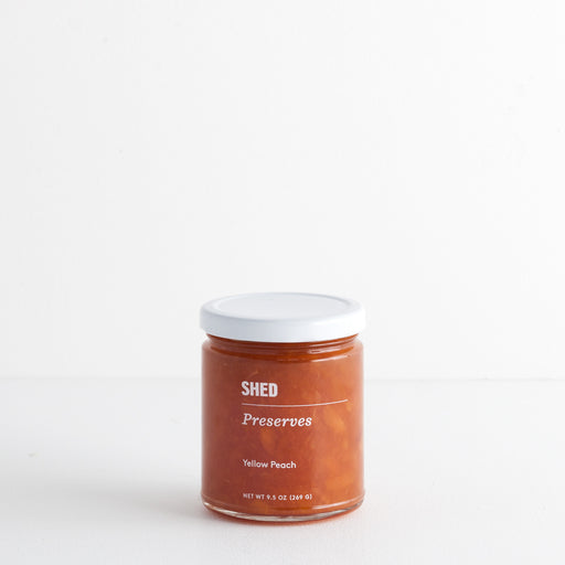 SHED Yellow Peach Preserve