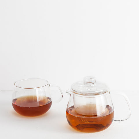 Modern Glass Teapot