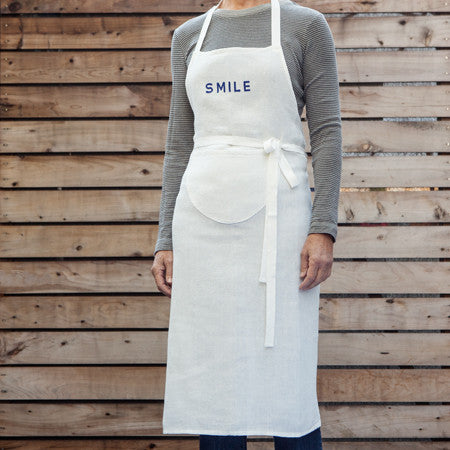 Cheerful Message Apron