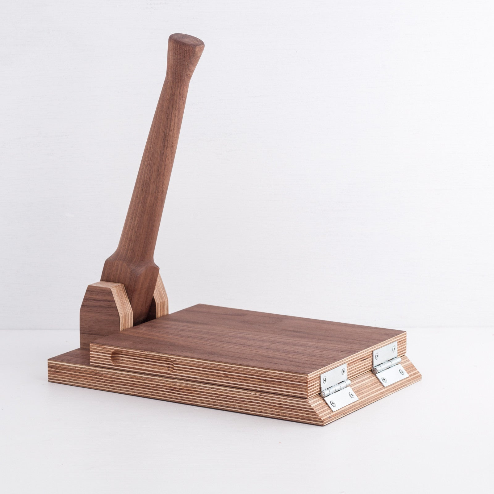 Simple Tortilla Press, Walnut