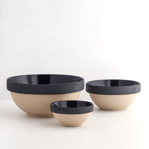 Nesting Bowls (Set of 3), Midnight Blue