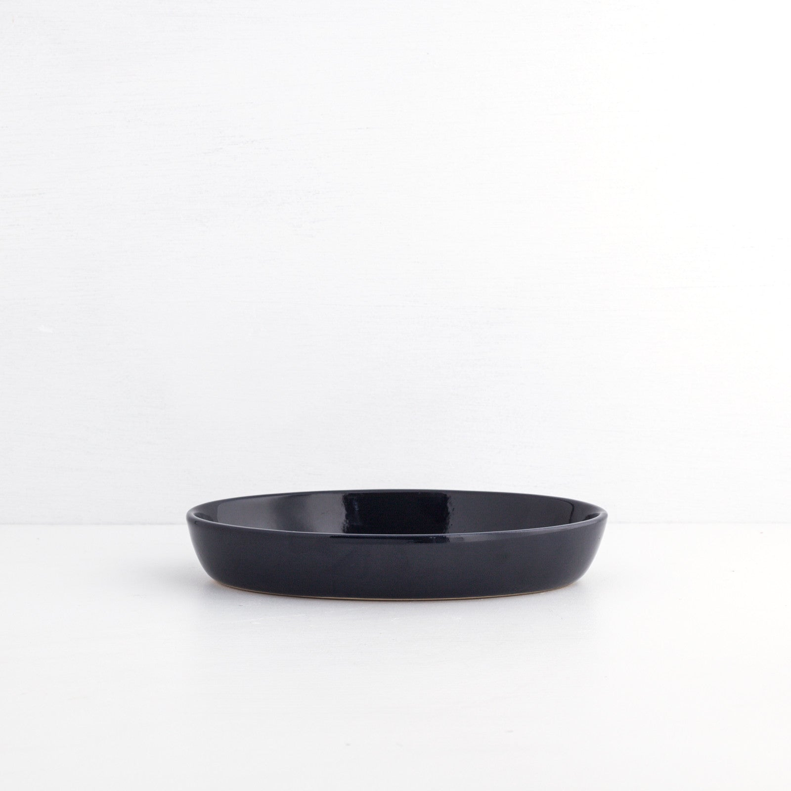 Small Gratin Dish, Midnight Blue