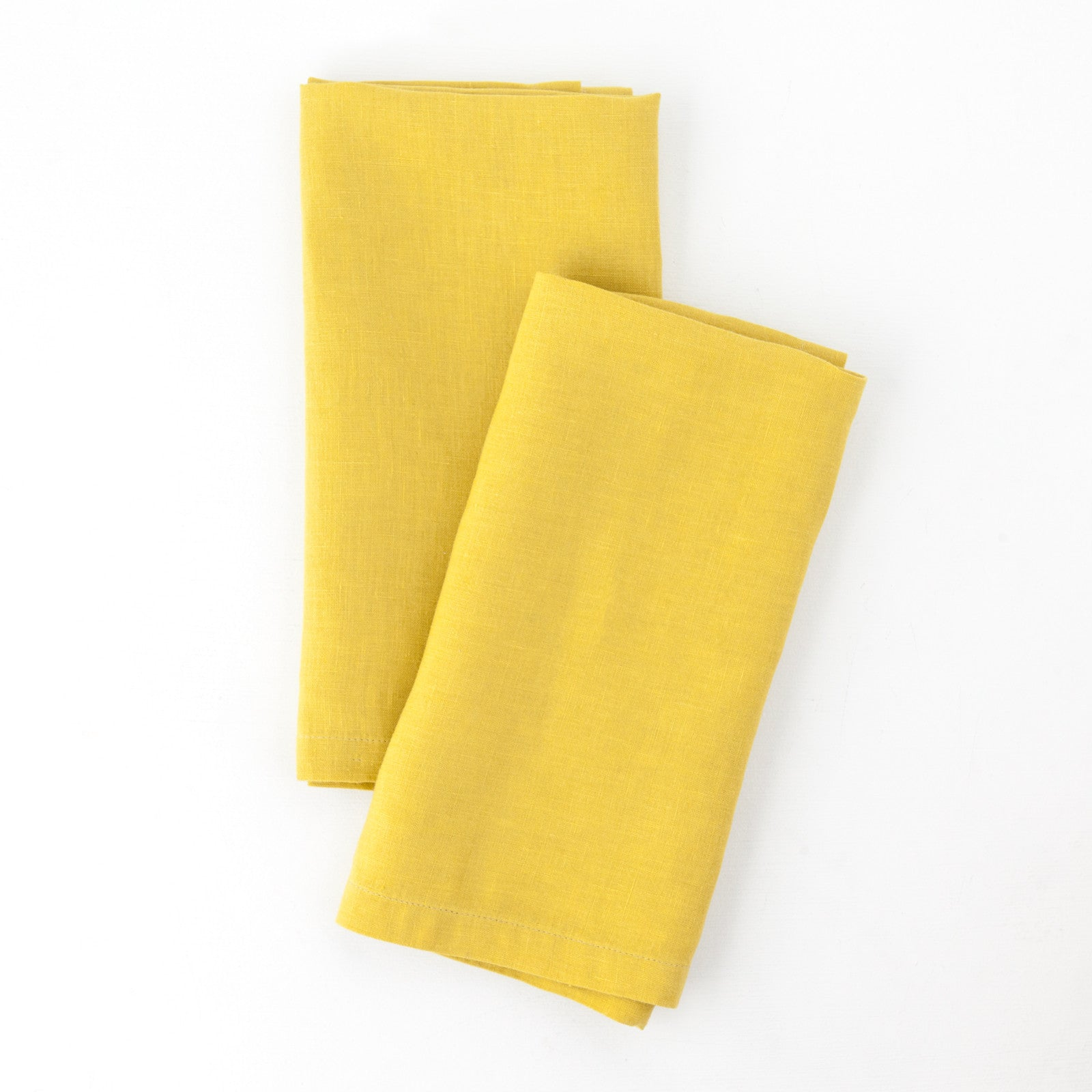 Washed Linen Napkin, Citrine