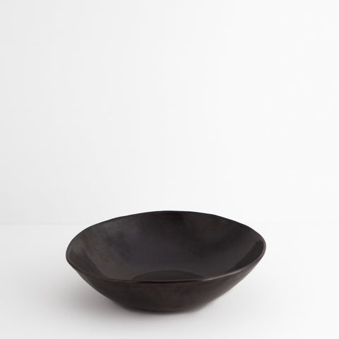 Simple Stoneware Bowl, Black