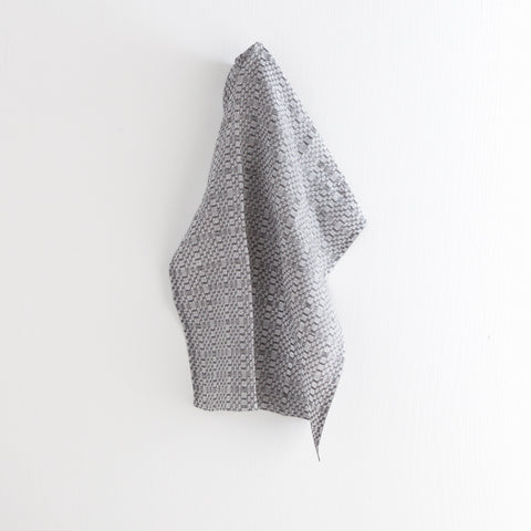 Swedish Linen Tea Towel, Graphite