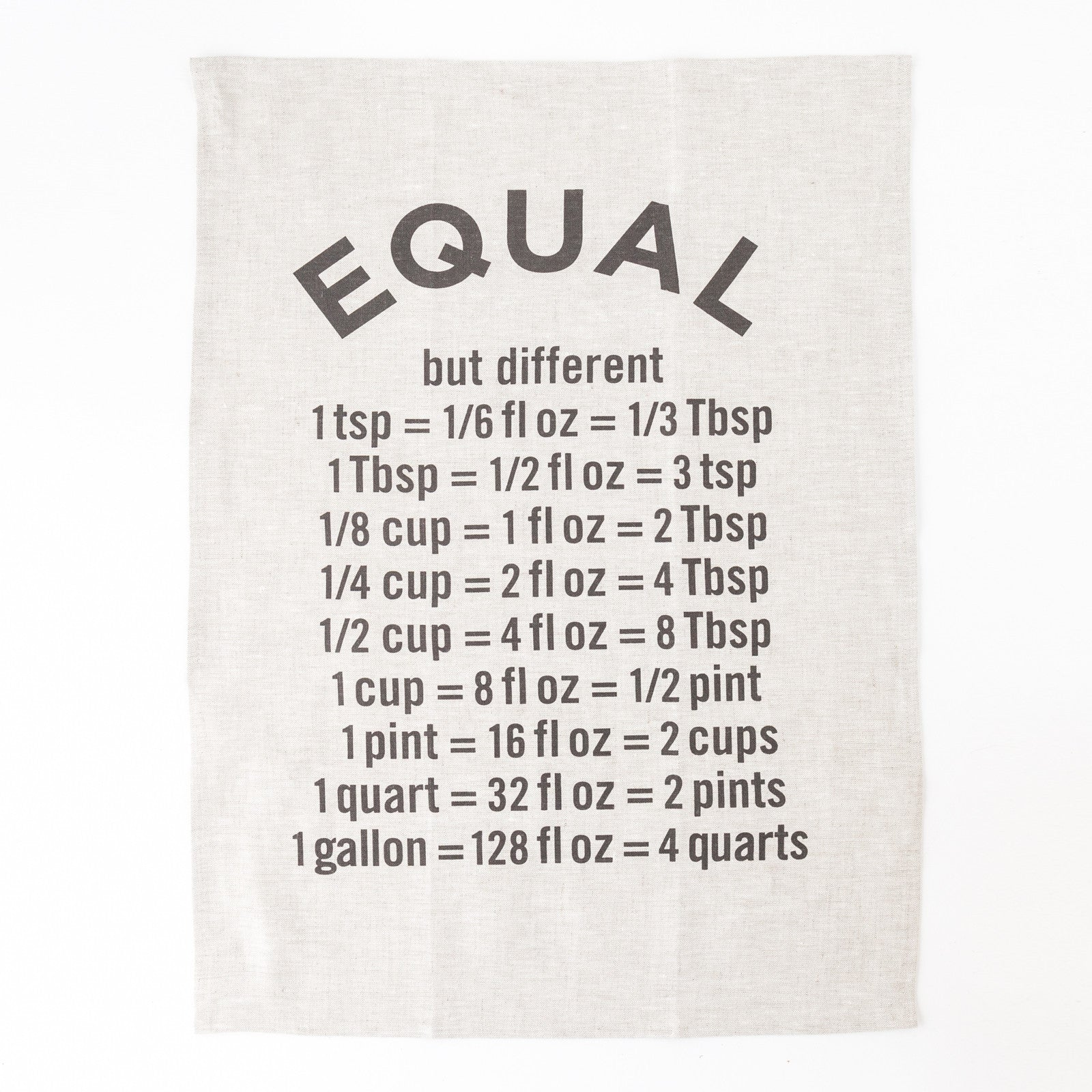 Equal Tea Towel