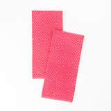Swedish Linen Tea Towel, Cerise