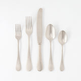Vintage Stainless 5-pc Flatware Set