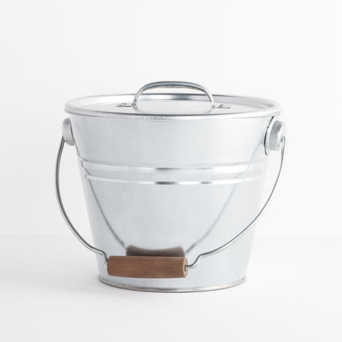 Galvanized Compost Bucket
