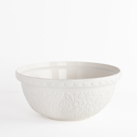 In the Forest Large Cream Bowl