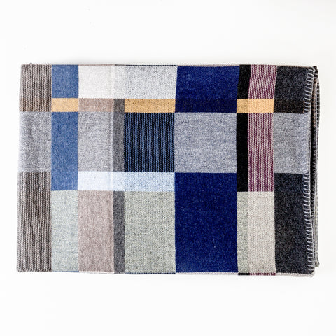 Erno Lambswool Bed Throw