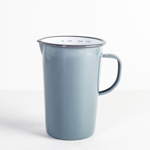 Grey Falcon Enamel Jug, 2 Pint