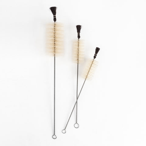 Black Tipped Bottle Brushes
