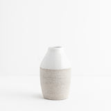 White Milk Bottle Vase