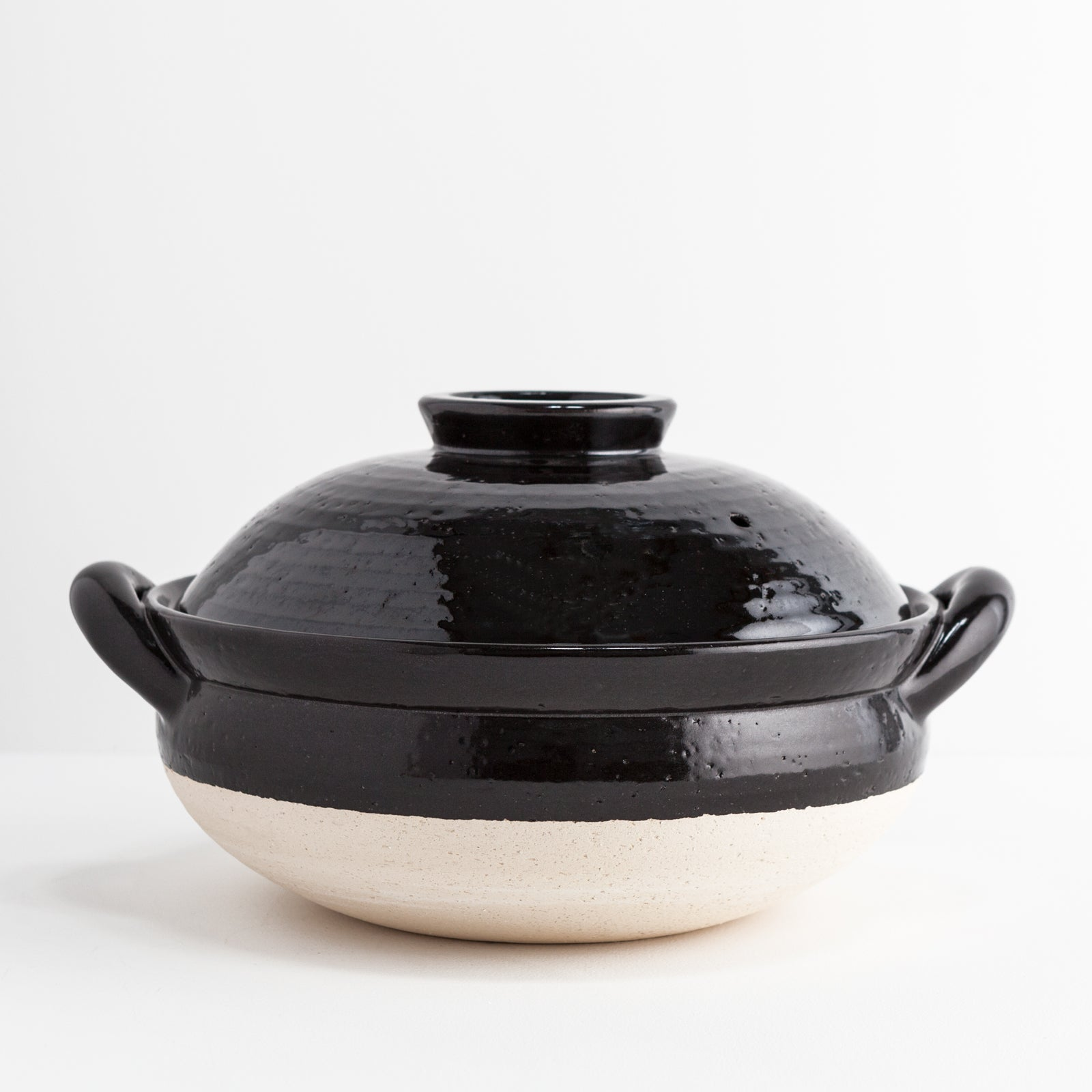 Black Clay Donabe Steamer
