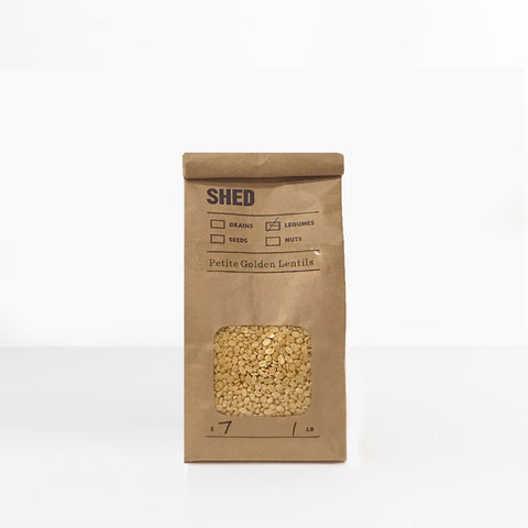 SHED Golden Lentils