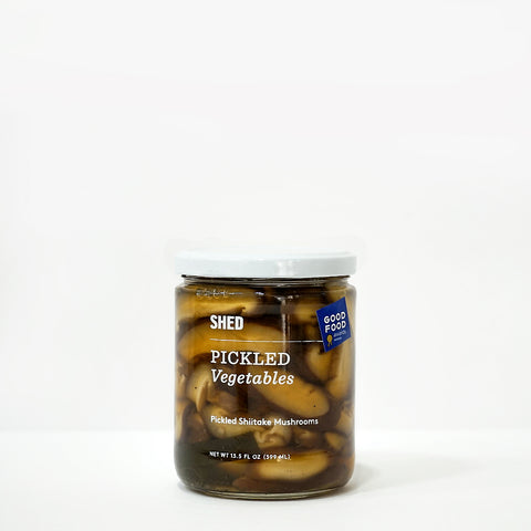 SHED Pickled Shiitake Mushrooms